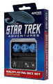 Star Trek Adventures RPG: Sciences Division Dice Set (Blue)