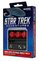 Star Trek Adventures RPG: Command Division Dice Set (Red)