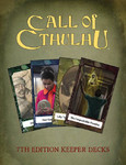 Call of Cthulhu RPG: Keeper Decks