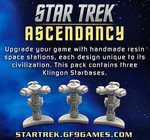 Star Trek: Ascendancy - Klingon Starbases
