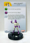 Marvel HeroClix - Guardians of the Galaxy - #007a Kree Private