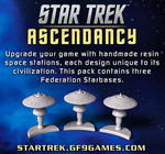 Star Trek: Ascendancy - Federation Starbases