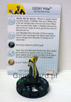 Marvel HeroClix - Guardians of the Galaxy - #025 Ebony Maw