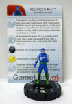 Marvel HeroClix - Guardians of the Galaxy - #013b Recorder #451