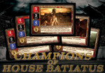 Spartacus: Champions of House Batiatus Card Set
