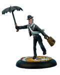 Ash and Oak Club: Butler with Umbrella