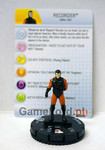 Marvel HeroClix - Guardians of the Galaxy - #013a Recorder