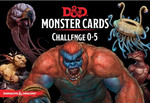 D&D Monster Cards - Challenge 0-5 Deck (193 Cards)