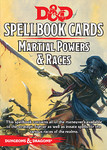 Dungeons & Dragons: Spellbook Cards - Martial Powers & Races 5.0