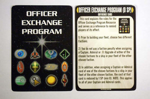 Attack Wing Star Trek - Resources: Officer Exchange & Reference Card