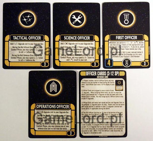 Attack Wing Star Trek - Resources: Officer Cards & Reference Card